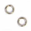 Jump Ring Round 4.5mm OD 20gauge Nickel Soldered